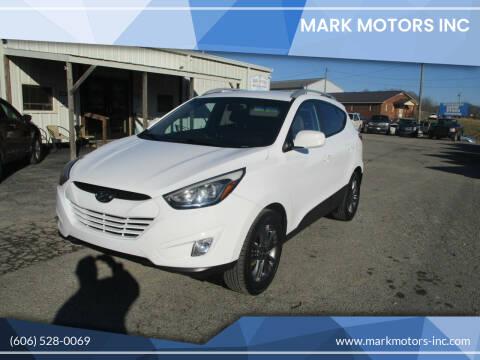 2015 Hyundai Tucson for sale at Mark Motors Inc in Gray KY