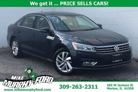 2018 Volkswagen Passat for sale at Mike Murphy Ford in Morton IL