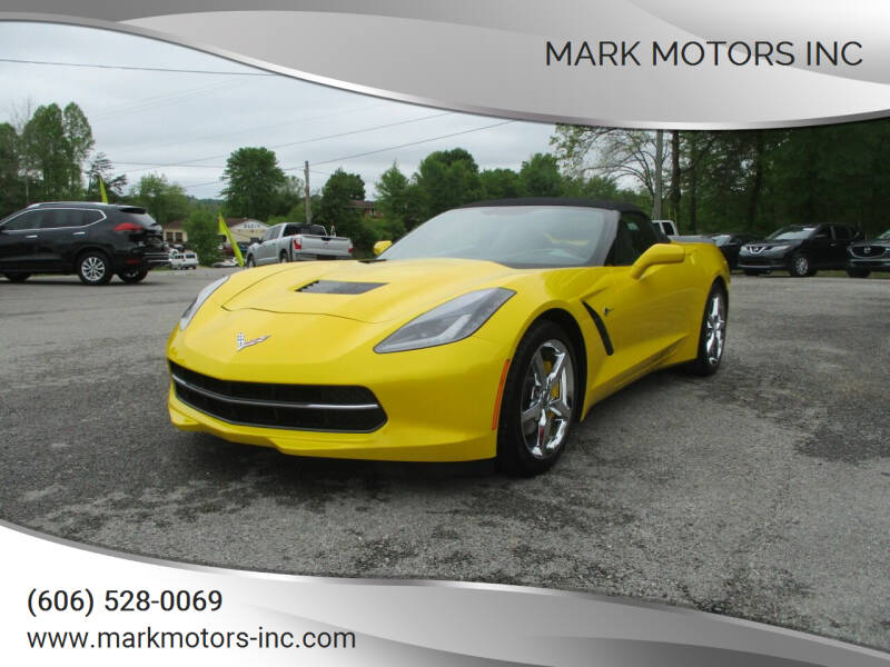 2014 Chevrolet Corvette for sale at Mark Motors Inc in Gray KY