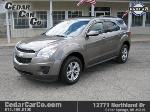 2011 Chevrolet Equinox for sale at Cedar Car Co in Cedar Springs MI