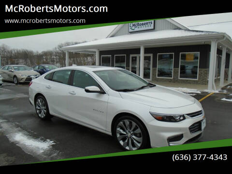 2017 Chevrolet Malibu for sale at McRobertsMotors.com in Warrenton MO