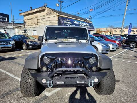 2008 Jeep Wrangler for sale at Millennium Auto Group in Lodi NJ