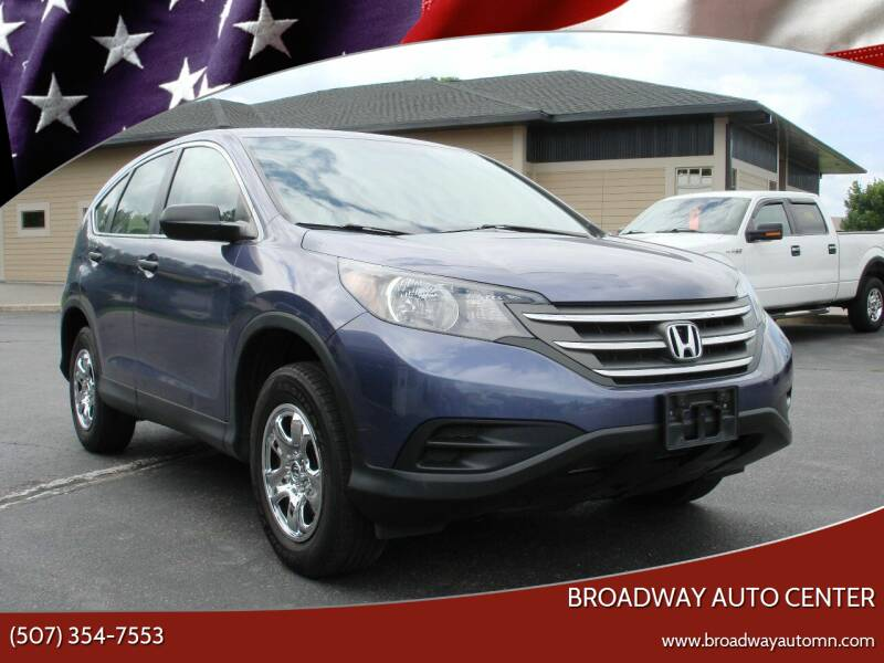 2013 Honda CR-V for sale at Broadway Auto Center in New Ulm MN