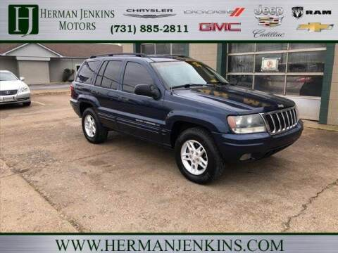2002 Jeep Grand Cherokee for sale at Herman Jenkins Used Cars in Union City TN