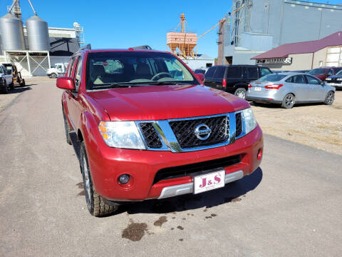 2008 Nissan Pathfinder for sale at J & S Auto Sales in Thompson ND