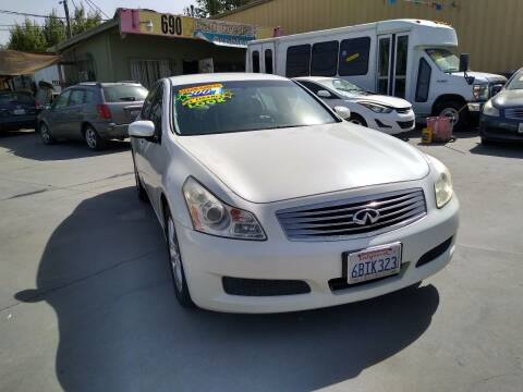 2007 Infiniti G35 for sale at Affordable Auto Finance in Modesto CA