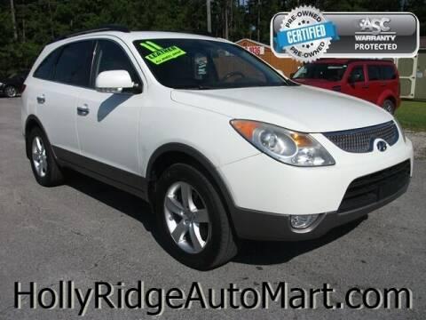 2011 Hyundai Veracruz for sale at Holly Ridge Auto Mart in Holly Ridge NC