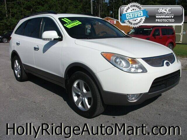 2011 Hyundai Veracruz for sale at Holly Ridge Auto Mart in Holly Ridge NC