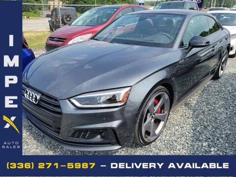 2019 Audi S5 for sale at Impex Auto Sales in Greensboro NC