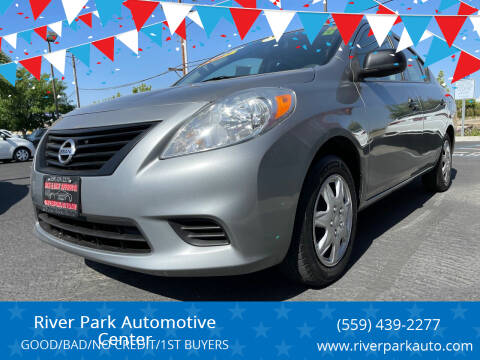 2014 Nissan Versa for sale at River Park Automotive Center in Fresno CA