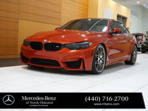 2018 BMW M4 for sale at Mercedes-Benz of North Olmsted in North Olmstead OH