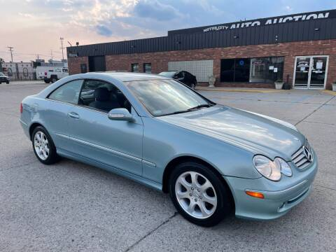 2003 Mercedes-Benz CLK for sale at Motor City Auto Auction in Fraser MI