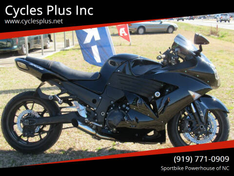 2007 Kawasaki Ninja ZX-14R for sale at Cycles Plus Inc in Garner NC
