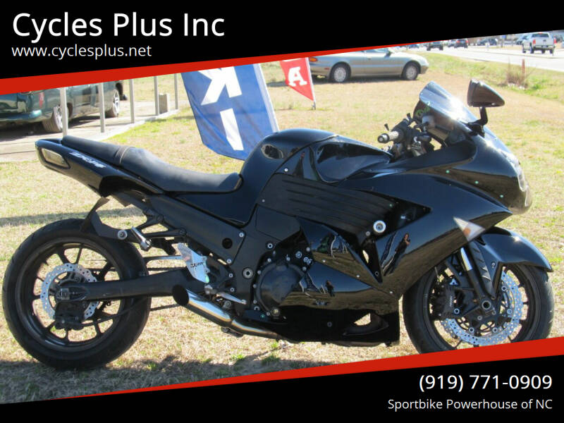 2007 Kawasaki Ninja ZX-14R for sale at Cycles Plus Inc in Garner NC