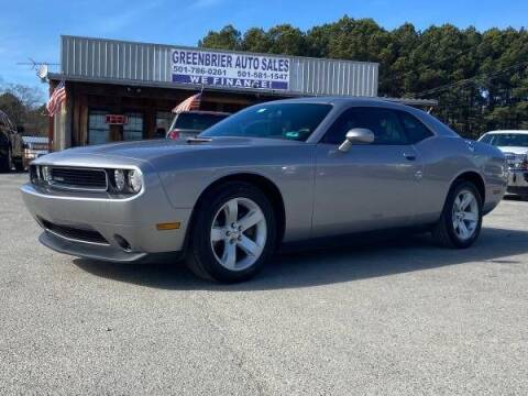 2014 Dodge Challenger for sale at Greenbrier Auto Sales in Greenbrier AR