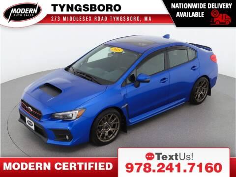 2018 Subaru WRX for sale at Modern Auto Sales in Tyngsboro MA