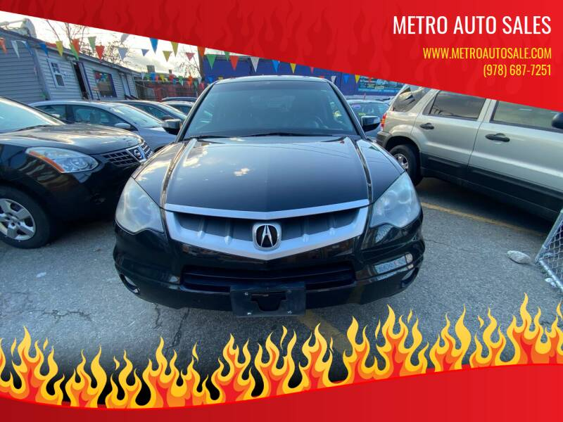 2007 Acura RDX for sale at Metro Auto Sales in Lawrence MA