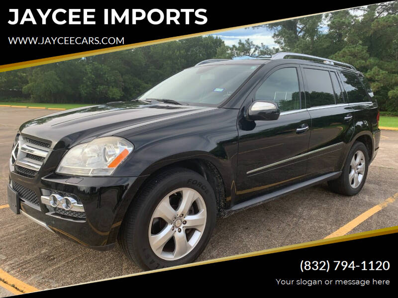 2010 Mercedes-Benz GL-Class for sale at JAYCEE IMPORTS in Houston TX
