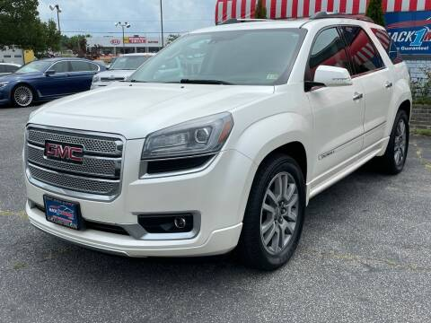 2014 GMC Acadia for sale at Mack 1 Motors in Fredericksburg VA