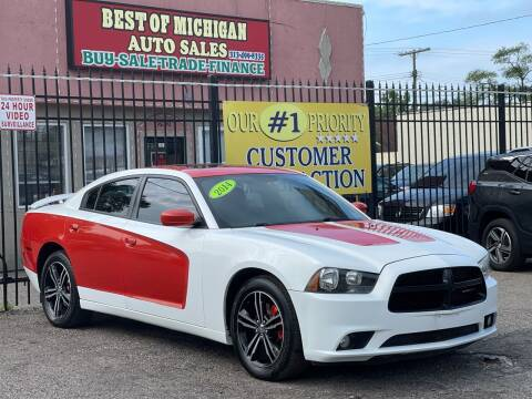 2014 Dodge Charger for sale at Best of Michigan Auto Sales in Detroit MI