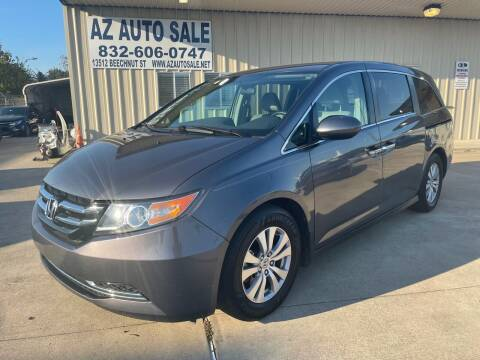 2016 Honda Odyssey for sale at AZ Auto Sale in Houston TX
