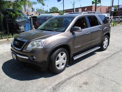 2007 GMC Acadia for sale at 5 Stars Auto Service and Sales in Chicago IL