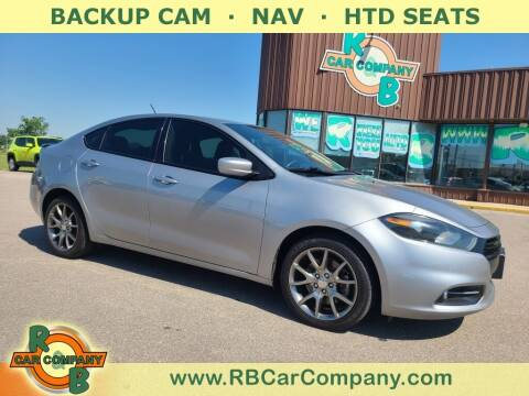 2014 Dodge Dart for sale at R & B Car Co in Warsaw IN