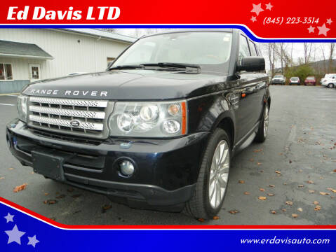 2006 Land Rover Range Rover Sport for sale at Ed Davis LTD in Poughquag NY