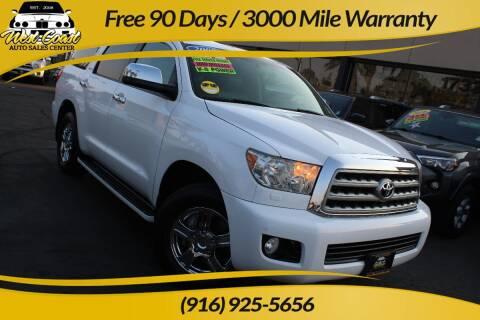2008 Toyota Sequoia for sale at West Coast Auto Sales Center in Sacramento CA