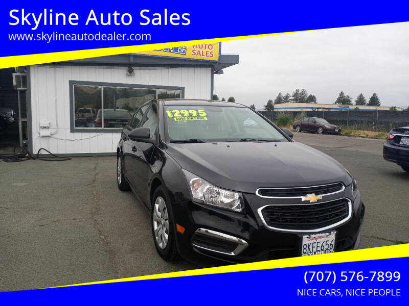 2016 Chevrolet Cruze Limited for sale at Skyline Auto Sales in Santa Rosa CA