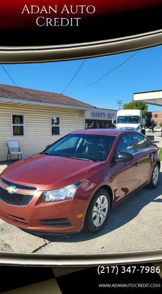 2012 Chevrolet Cruze for sale at Adan Auto Credit in Effingham IL