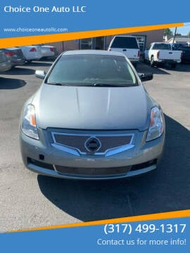 2008 Nissan Altima for sale at Choice One Auto LLC in Beech Grove IN