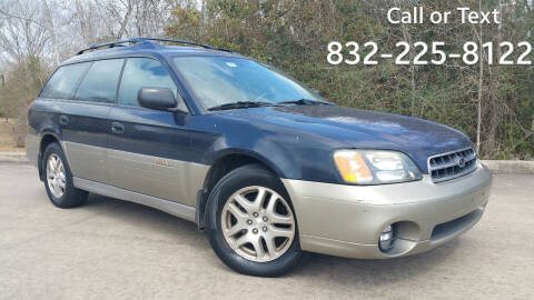2002 Subaru Outback for sale at Houston Auto Preowned in Houston TX