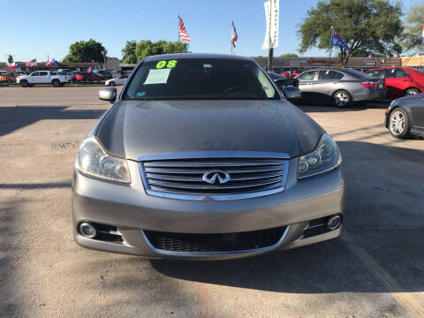 2008 Infiniti M35 for sale at SOUTHWAY MOTORS in Houston TX