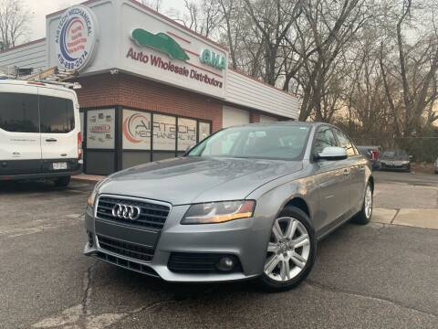 2010 Audi A4 for sale at GMA Automotive Wholesale in Toledo OH