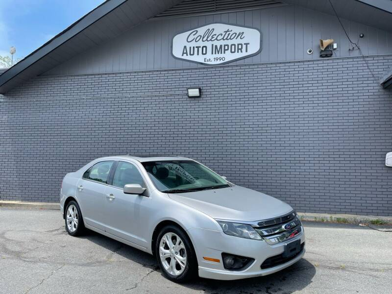 2012 Ford Fusion for sale at Collection Auto Import in Charlotte NC