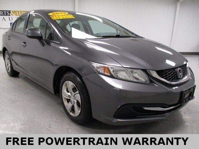 2013 Honda Civic for sale at Sports & Luxury Auto in Blue Springs MO