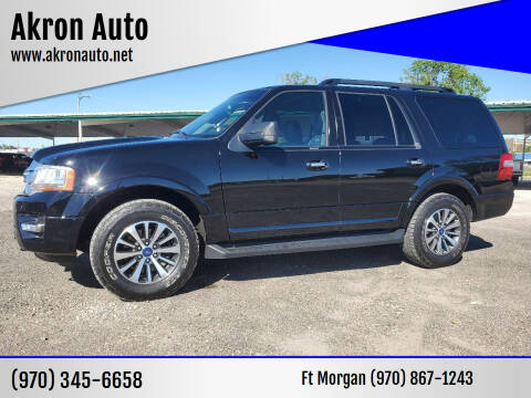 2017 Ford Expedition for sale at Akron Auto in Akron CO