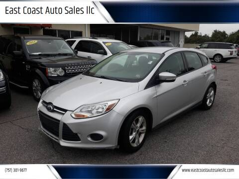 2014 Ford Focus for sale at East Coast Auto Sales llc in Virginia Beach VA
