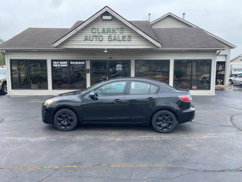 2010 Mazda MAZDA3 for sale at Clarks Auto Sales in Middletown OH