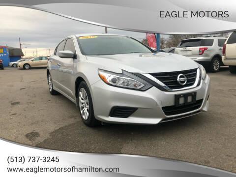 2016 Nissan Altima for sale at Eagle Motors in Hamilton OH
