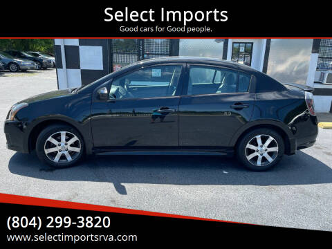 2012 Nissan Sentra for sale at Select Imports in Ashland VA