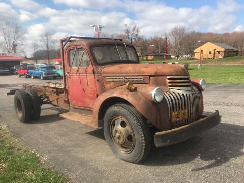 1946 Chevrolet 3800 for sale at FIREBALL MOTORS LLC in Lowellville OH