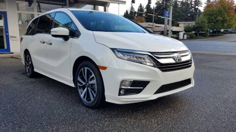 2019 Honda Odyssey for sale at Seattle Auto Deals in Everett WA