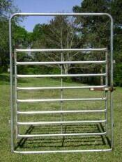 2020 GALV 6' BOW GATE for sale at Rod's Auto Farm & Ranch in Houston MO