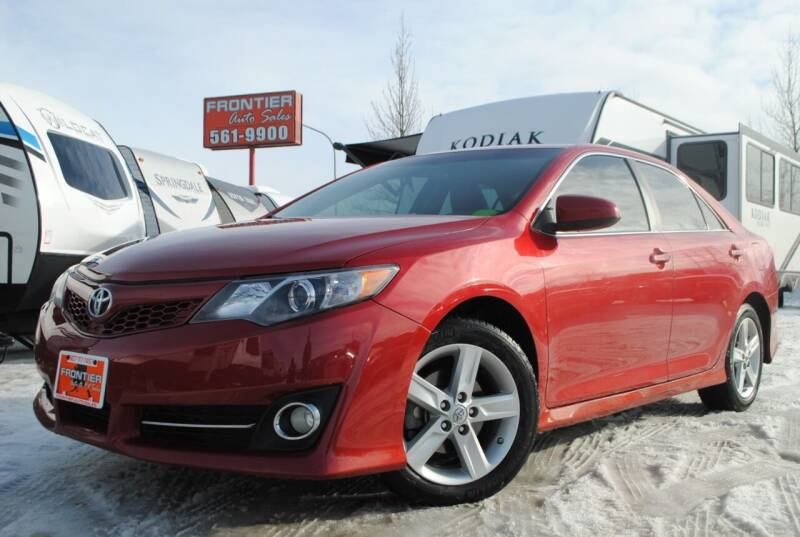 2014 Toyota Camry for sale at Frontier Auto & RV Sales in Anchorage AK