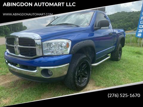 2008 Dodge Ram Pickup 1500 for sale at ABINGDON AUTOMART LLC in Abingdon VA