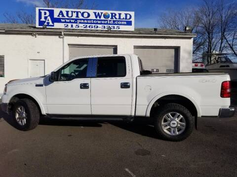 2004 Ford F-150 for sale at PA Auto World in Levittown PA