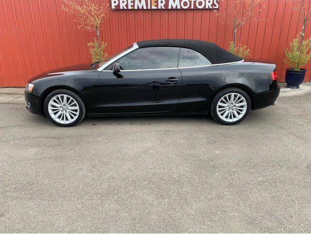 2011 Audi A5 for sale at PREMIERMOTORS  INC. in Milton Freewater OR