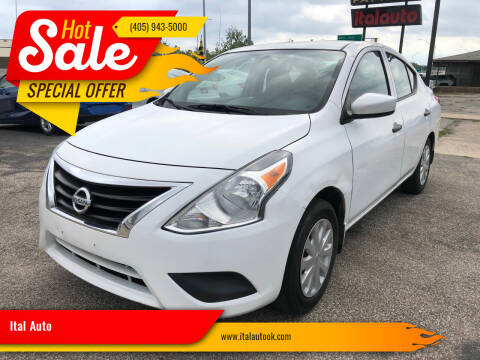 2016 Nissan Versa for sale at Ital Auto in Oklahoma City OK